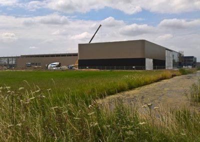 SAB-profiel Geldermalsen tijdens bouw juli 2018